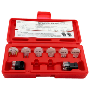 ProAm by KC Tools 8pc Electronic Fuel Injection Test Light Kit / Noid Light Set