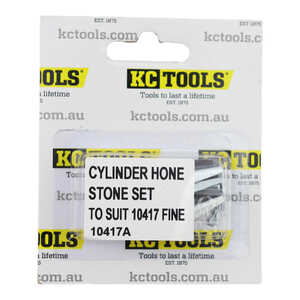 KC Tools Cylinder Hone Stone Set (To Suit 10417 Fine)