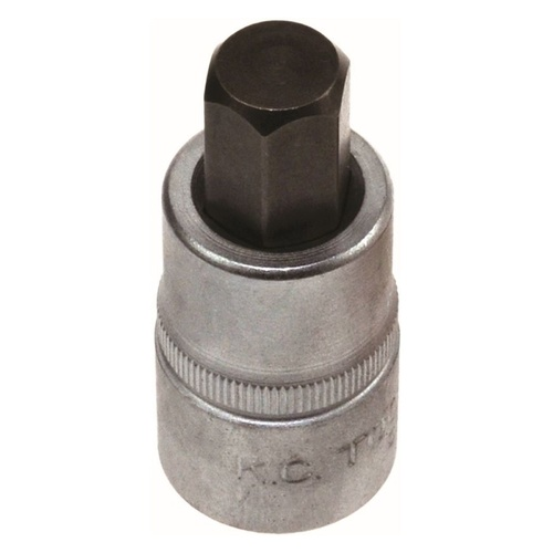 "KC Tools 1/2"" Dr In-Hex Socket 1/2"""