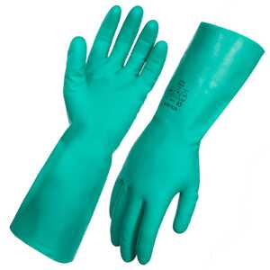 AgBoss Green Nitrile Gloves 45cm - Size 11