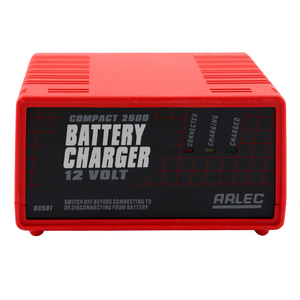 Arlec Compact 2500 12 Volt Battery Charger w/ LED Display