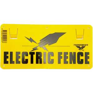 Thunderbird Electric Fence Sign