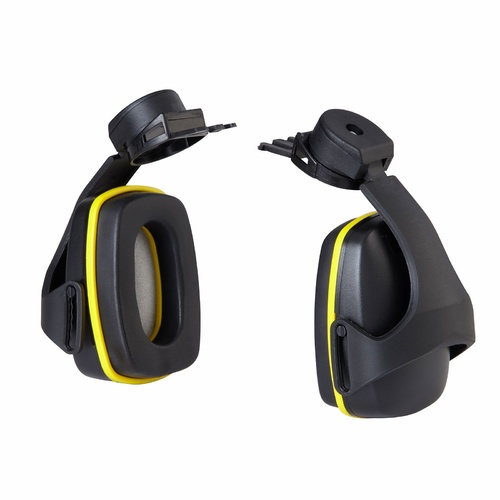 Maxisafe 26dB Yellow Helmet Style Earmuffs 3017
