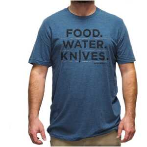 Benchmade T-Shirt - Food. Water. Knives. - Size LG