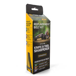 Work Sharp Replacement Belt Kit 6 Pack