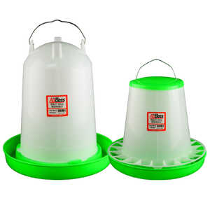 AgBoss 14L Drinker and 8kg Feeder Poultry Set